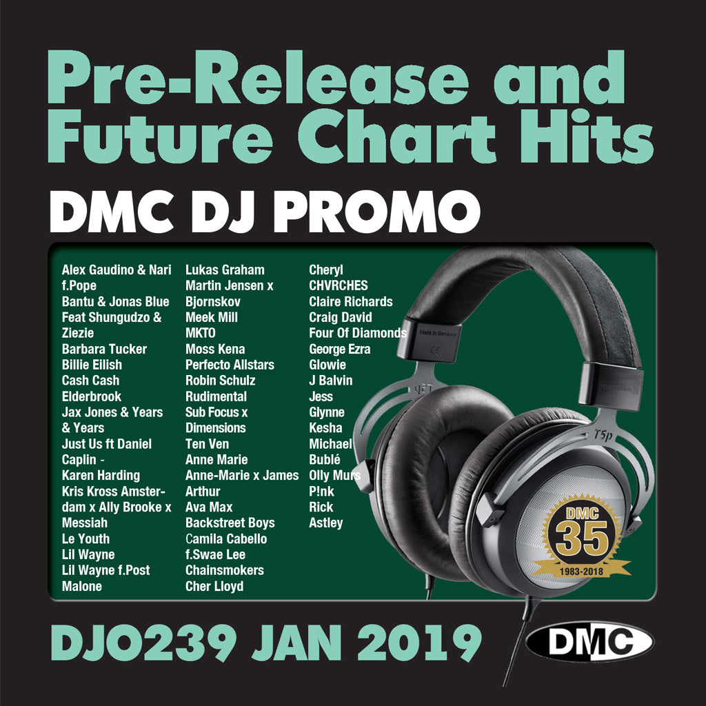 Check Out DMC DJ Promo 239 - January 2019 release On The DMC Store