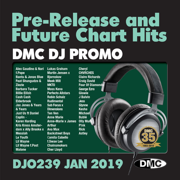 DMC DJ Promo 239 - January 2019 release