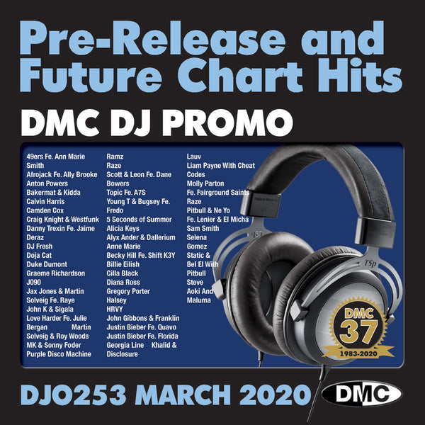 DMC DJ PROMO 253 - 2 x CD - March 2020 release