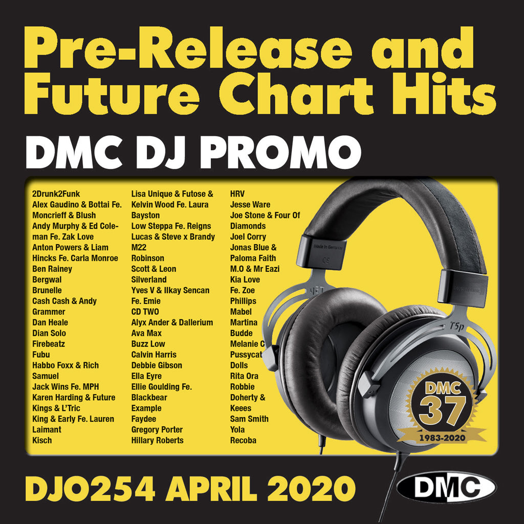 Check Out DMC DJ PROMO 254   -   PRE RELEASE AND FUTURE CHART HITS!  (2 x cd) - April 2020 release On The DMC Store