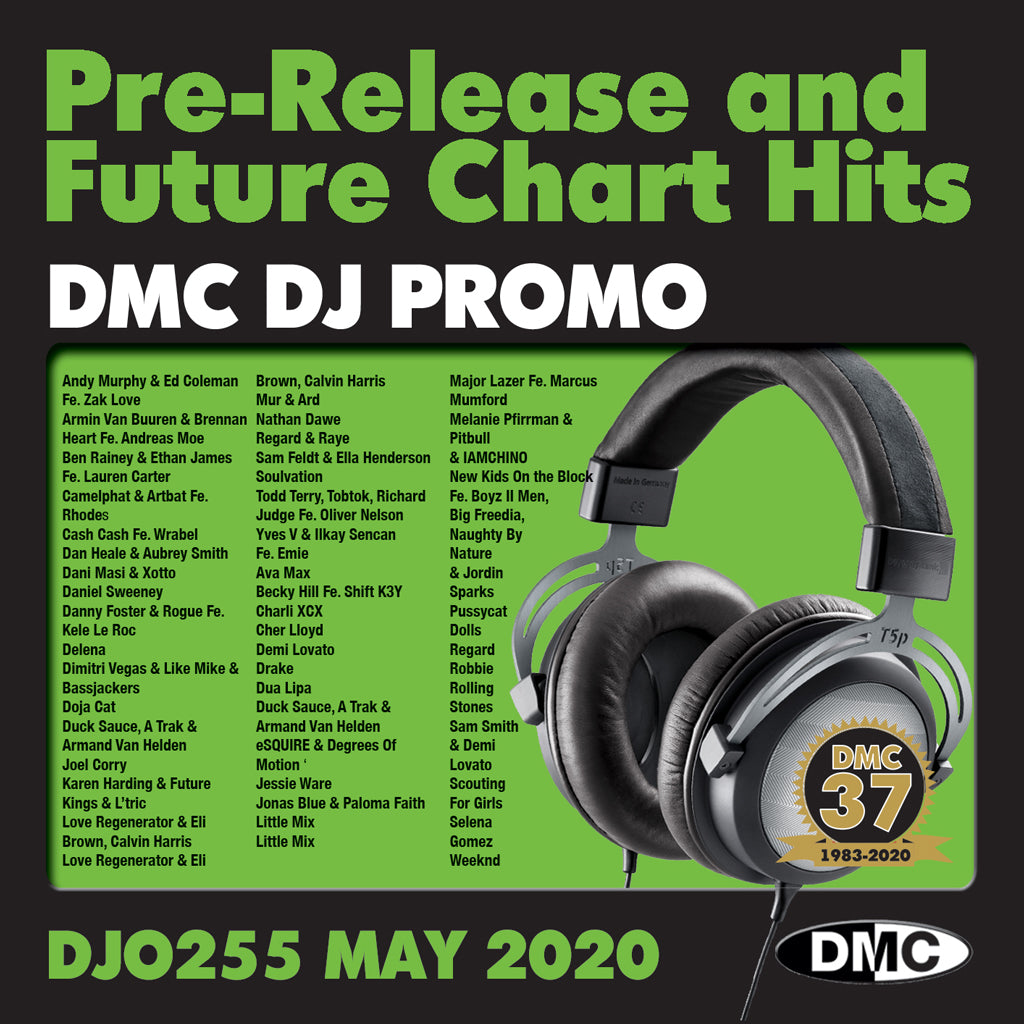 DMC DJ PROMO 255 - NEW - May 2020 release