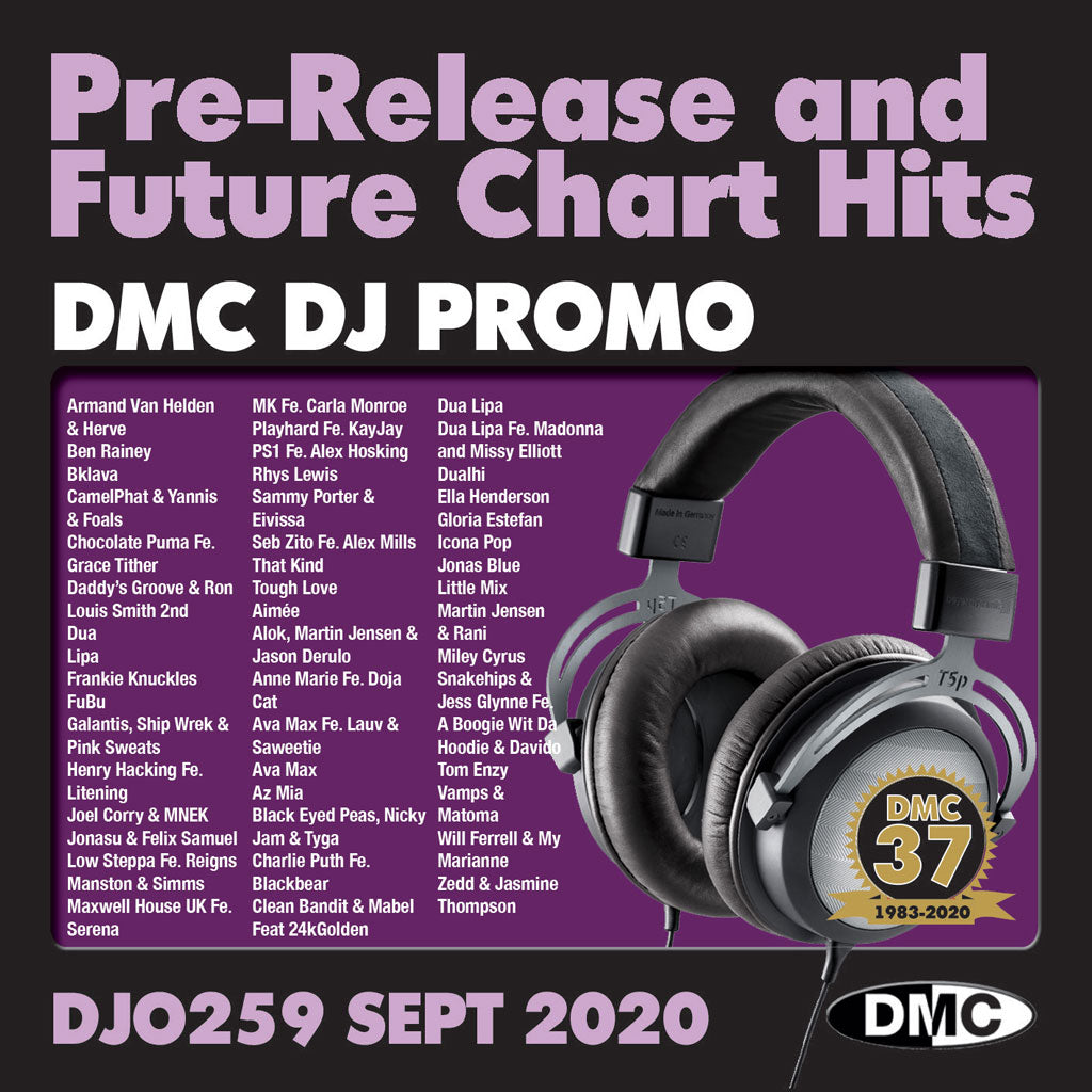 DMC DJ PROMO 259 - SEPTEMBER 2020 release