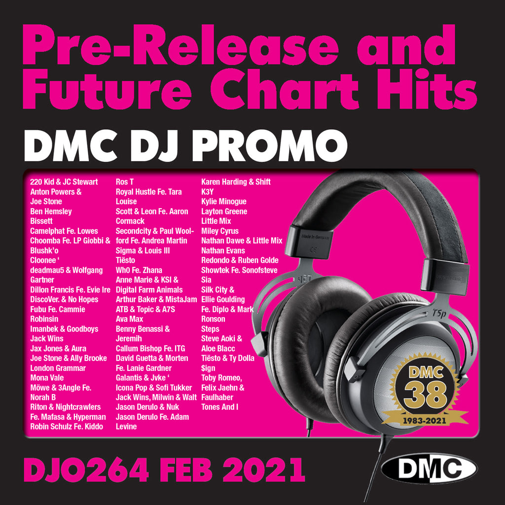 DMC DJ PROMO 264 - 2 x CD - February 2021 release
