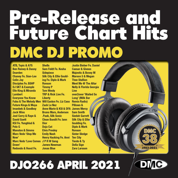 DMC DJ PROMO 266 - April 2021 new release