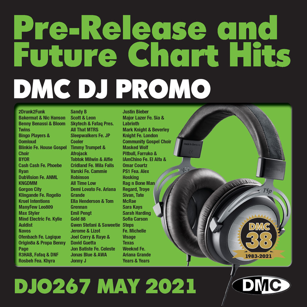 Check Out DMC DJ PROMO 267 - May 2021 release On The DMC Store