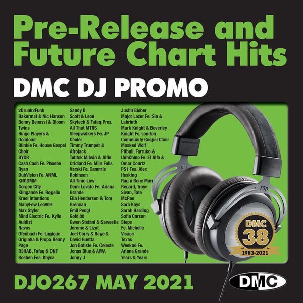 DMC DJ PROMO 267 - May 2021 release