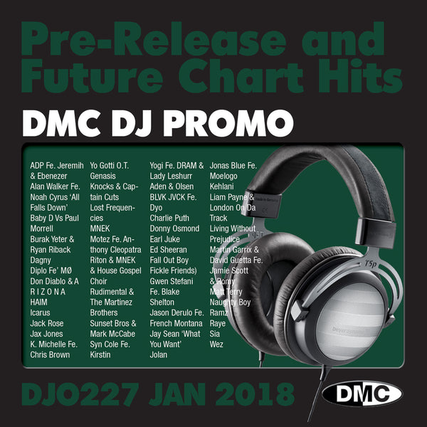 DMC DJ Promo 227 - January 2018 release