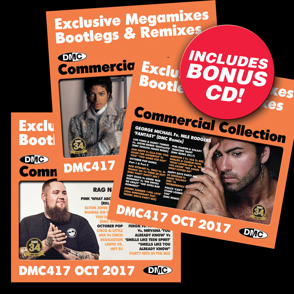 DMC Commercial Collection 417 - October 2017 release - Includes bonus 3rd CD
