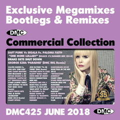 DMC COMMERCIAL COLLECTION 425 - TRIPLE CD EDITION - JUNE 2018