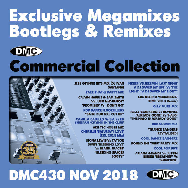 DMC COMMERCIAL COLLECTION 430 - November 2018 release