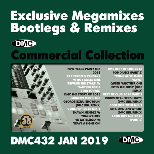 DMC Commercial Collection 432 - January 2019 release