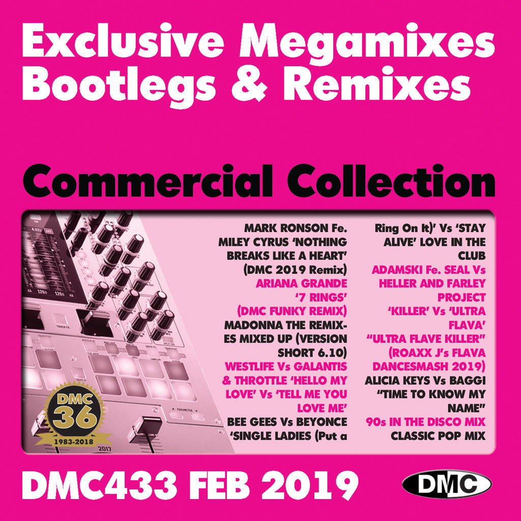 DMC Commercial Collection 433 - triple edition - February 2019