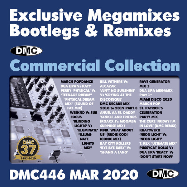 DMC COMMERCIAL COLLECTION 446  - 2 x CD - March 2020 release