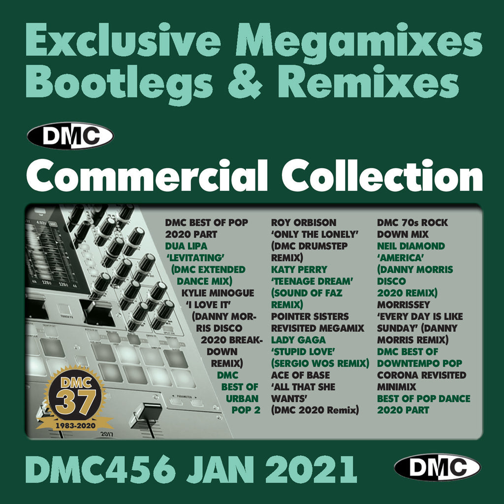 DMC COMMERCIAL COLLECTION 456 - January 2021 issue - NEW RELEASE