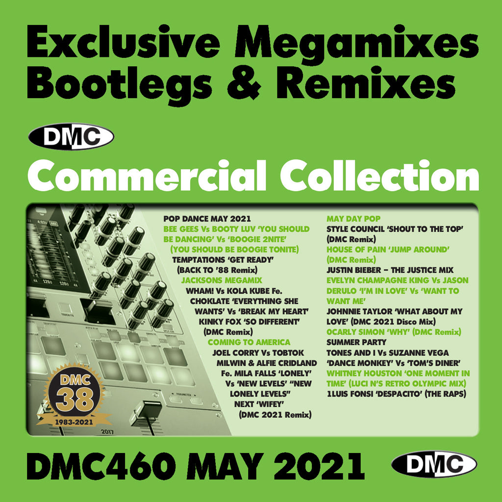 Check Out DMC Commercial Collection 460 - May 2021 release On The DMC Store