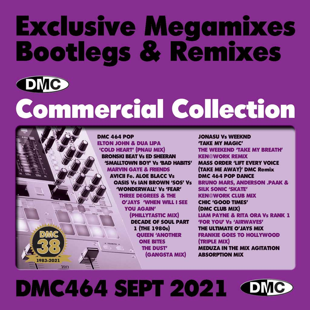 Check Out DMC Commercial Collection 464 - September 2021 release On The DMC Store