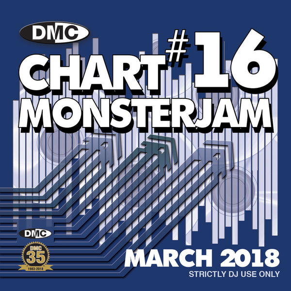 DMC Chart Monsterjam 16 - March 2018