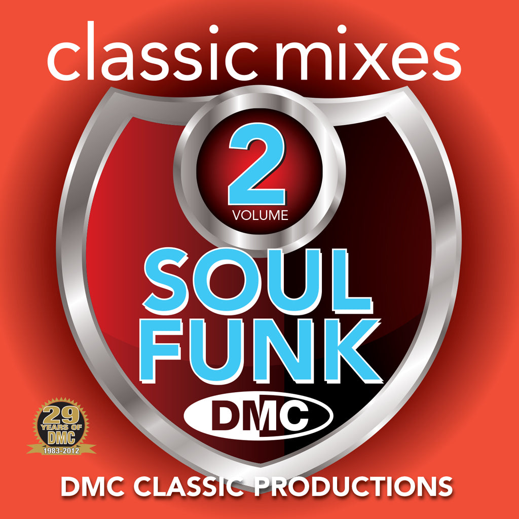 DMC Classic Mixes - Soul Funk Vol. 2 NEW RELEASE