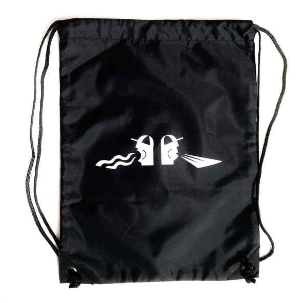 DMC Scream & Shout Wax Sac -  Black / White Print