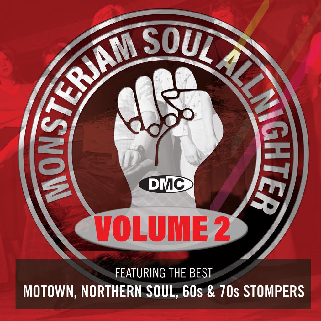 DMC Soul Allnighter Monsterjam Vol. 2  Featuring Tamla Motown, Northern Soul, 60s & 70s Stompers - December 2020 release - New Release