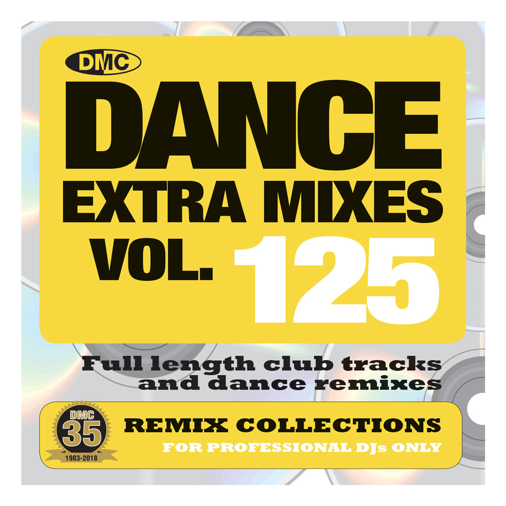 DANCE EXTRA MIXES 125 - April 2018
