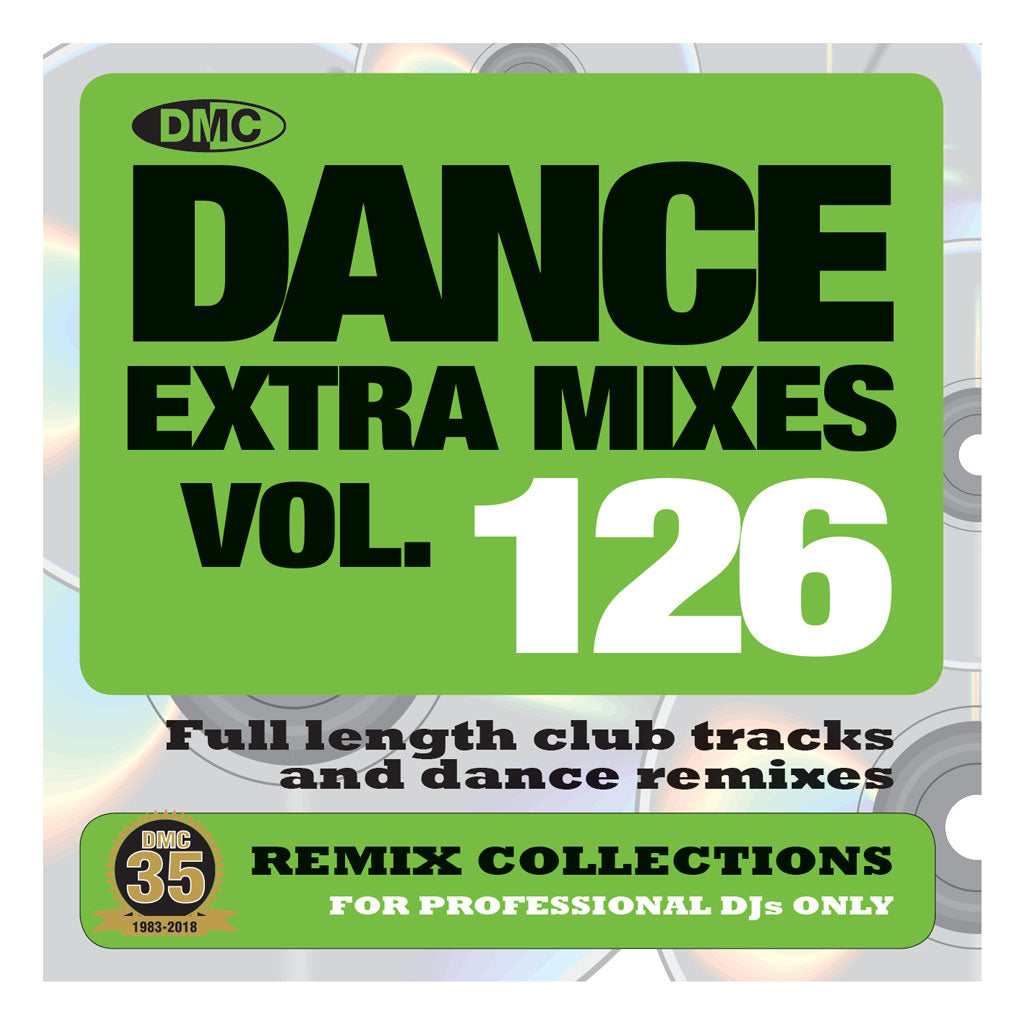 DMC Dance Extra Mixes 126 - Mid May 2018 release