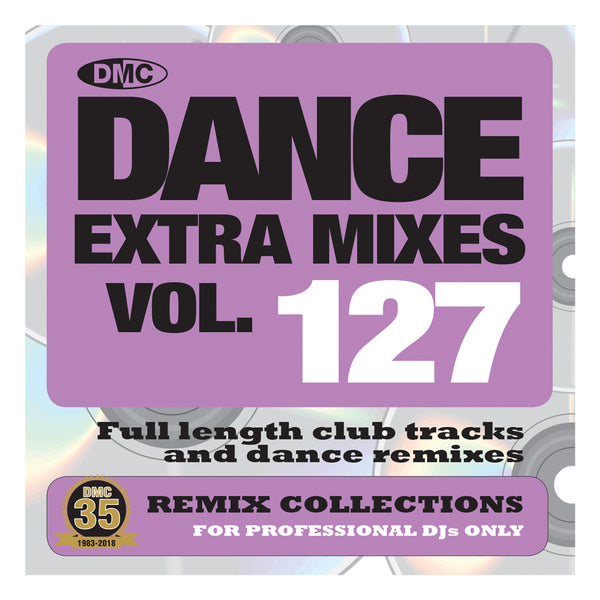 DMC DANCE EXTRA MIXES 127 - June Release