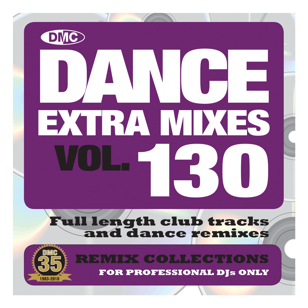 Check Out DMC DANCE EXTRA MIXES 130 - Mid September release On The DMC Store