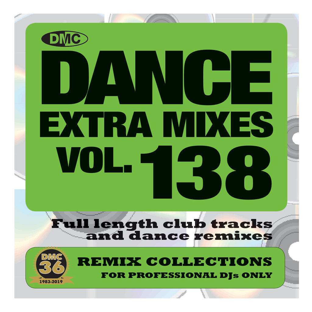 Check Out DMC DANCE EXTRA MIXES 138 - PRE-RELEASE FULL LENGTH CLUB TRACKS AND DANCE REMIXES - May 2019 On The DMC Store
