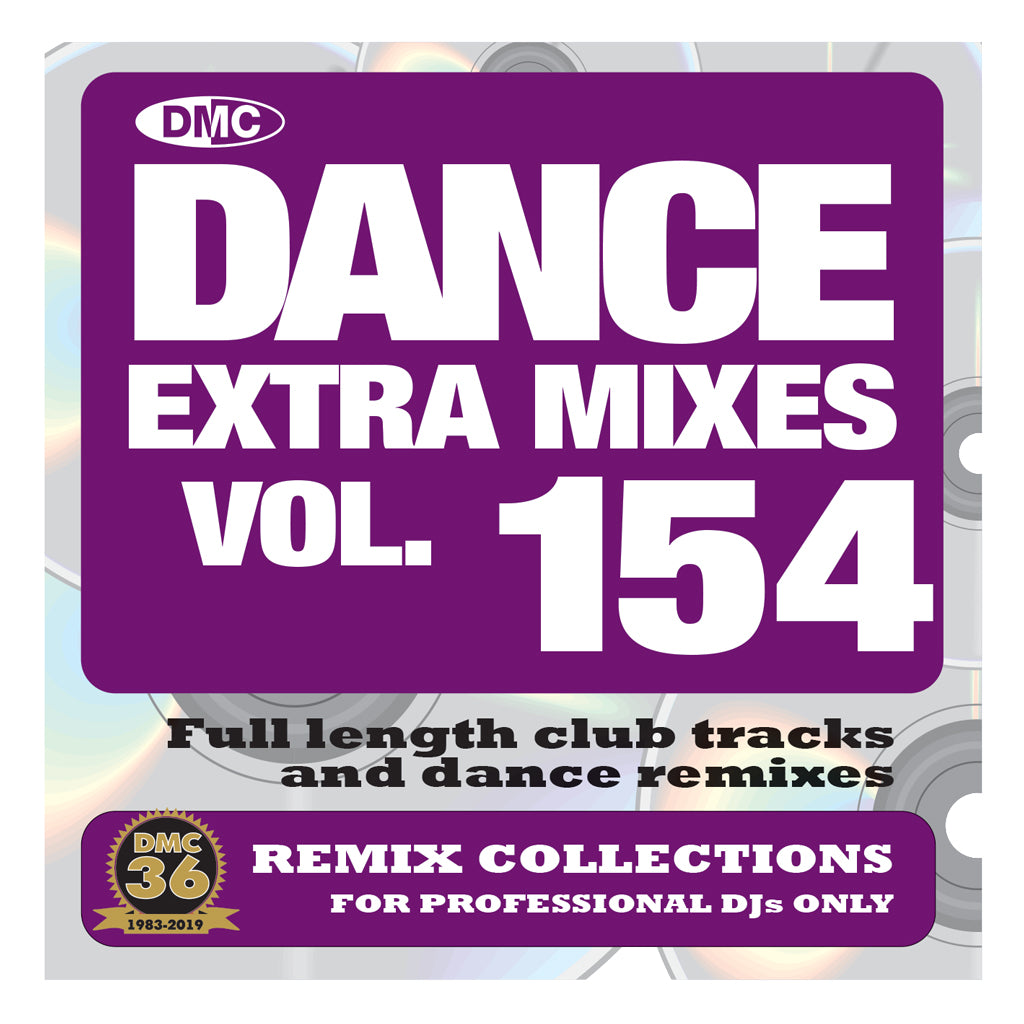 DMC DANCE EXTRA MIXES 154 - September 2020 release
