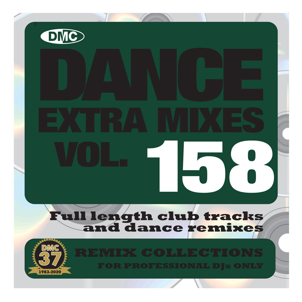 Check Out DMC DANCE EXTRA MIXES 158 - January 2021 release On The DMC Store