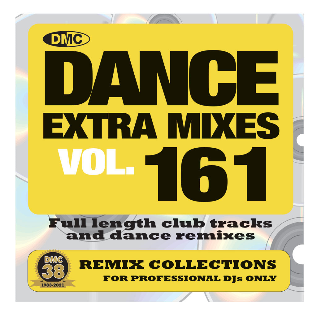 Check Out DMC Dance Extra Mixes 161 - mid April 2021 release On The DMC Store