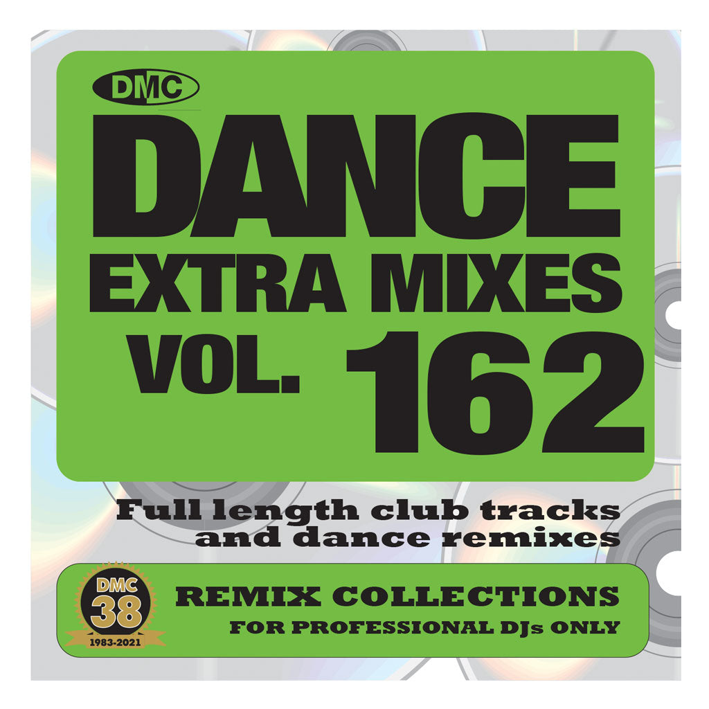 Check Out DMC DANCE EXTRA MIXES 162 - May 2021 releases On The DMC Store