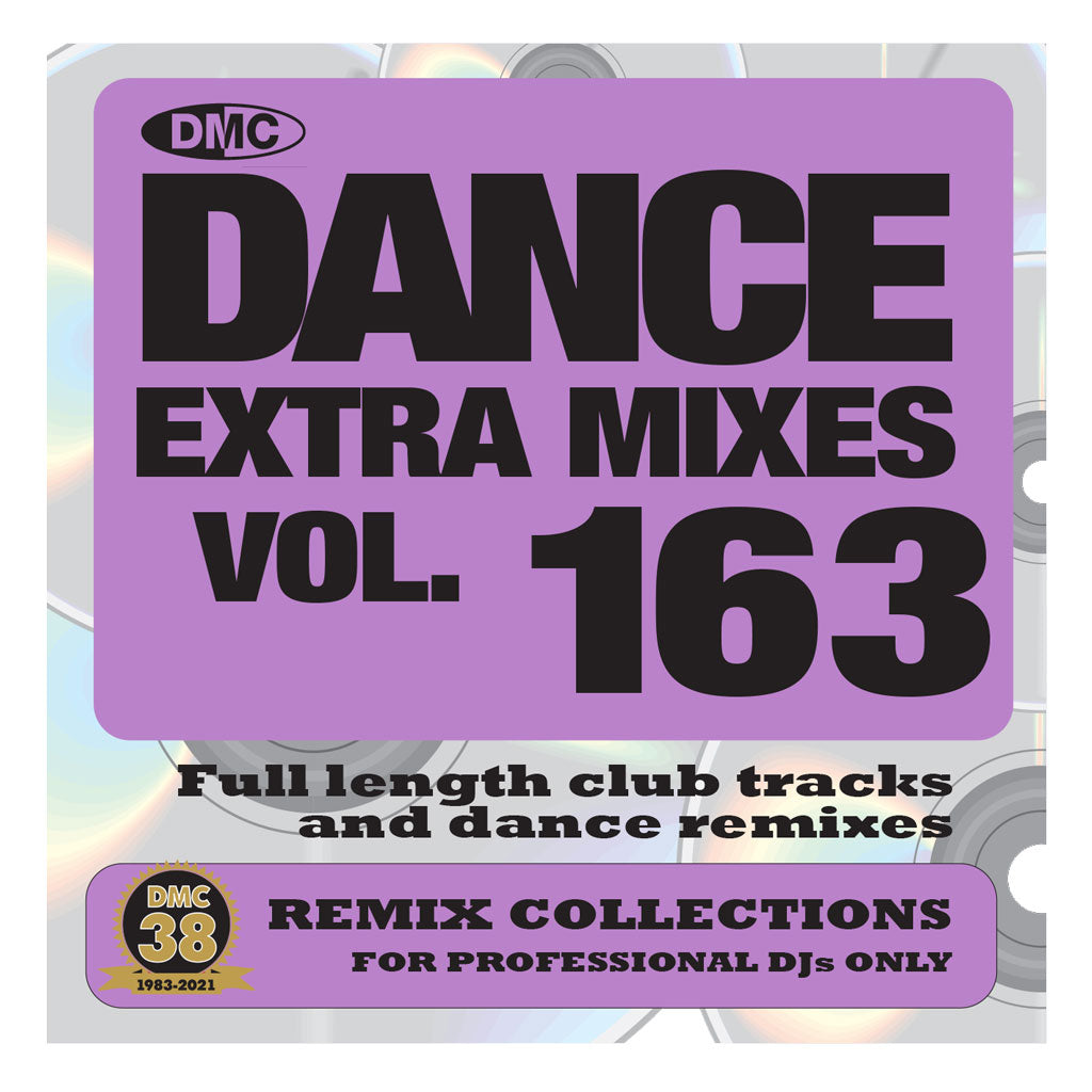 Check Out DMC DANCE EXTRA MIXES 163 - June 2021 release On The DMC Store
