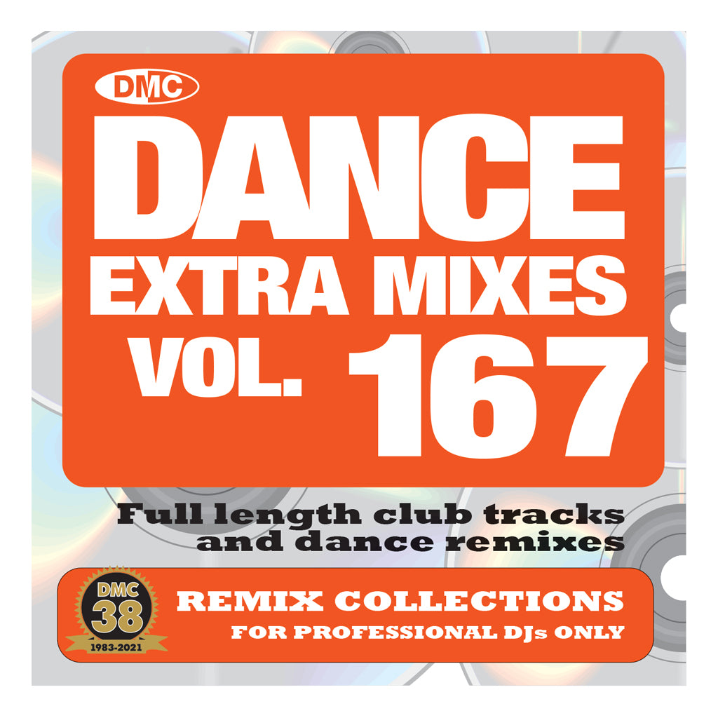 Check Out DMC DANCE EXTRA MIXES 167 - mid October 2021 release On The DMC Store