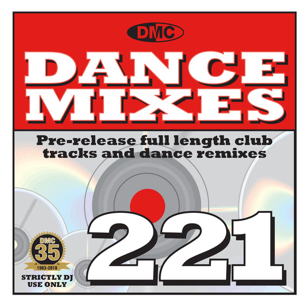 DMC Dance Mixes 221 - Mid December 2018 release