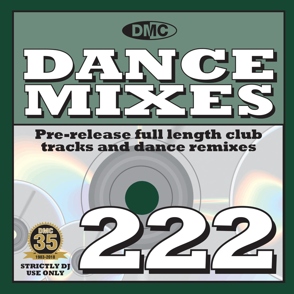 Check Out DMC Dance Mixes 222 - January 2019 release On The DMC Store