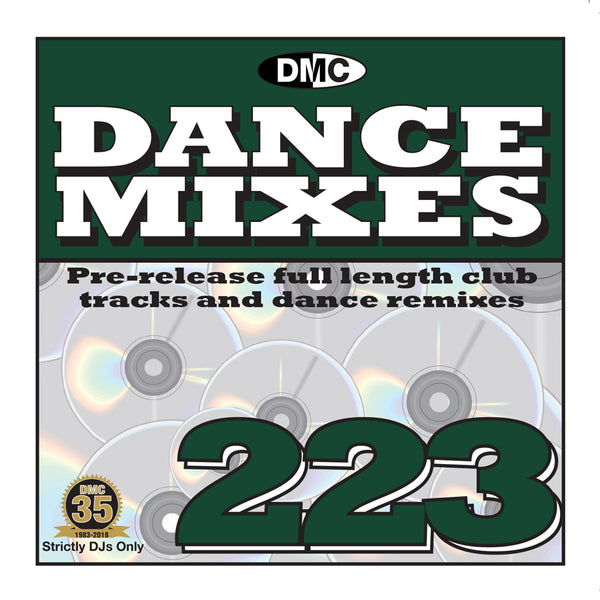 DMC Dance Mixes 223 - Mid January 2019 release