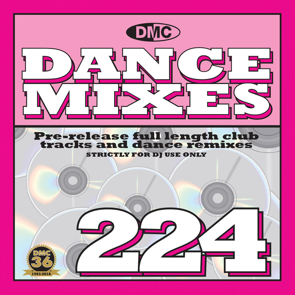 DMC DANCE MIXES 224 - Full Length Club Tracks And Dance Remixes - February 2019 release