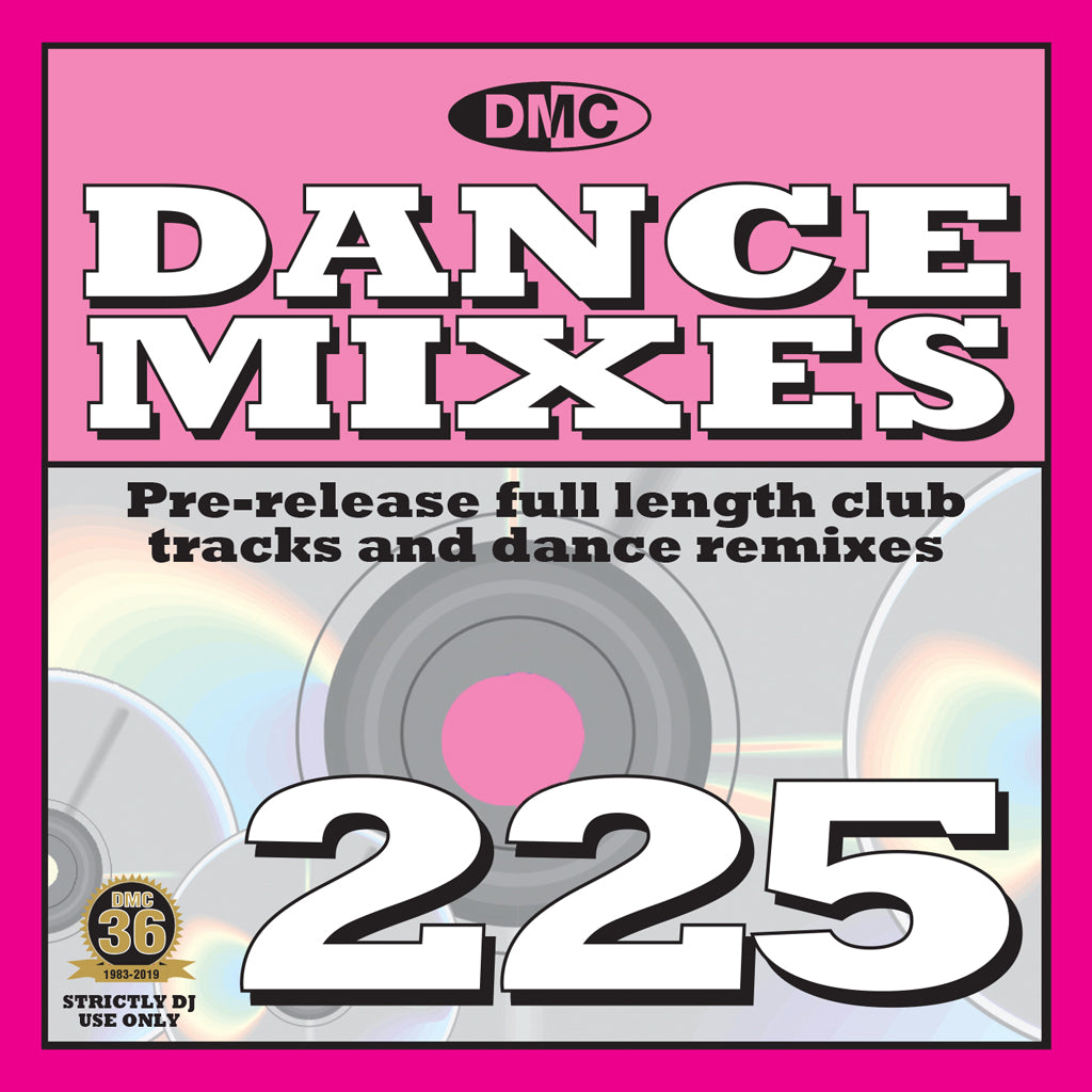 Check Out DMC DANCE MIXES 225 - FEBRUARY 2019 RELEASE On The DMC Store