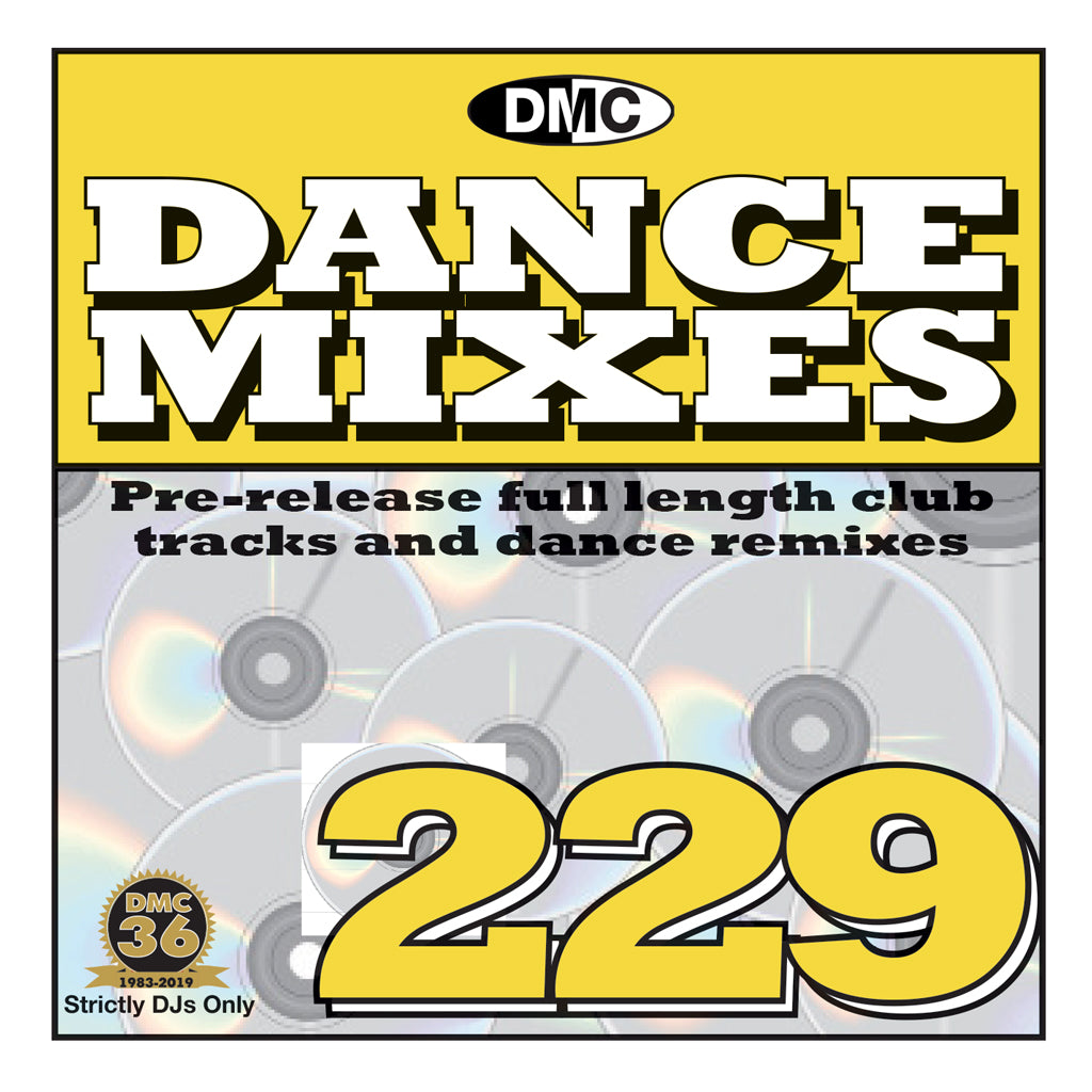 Check Out DANCE MIXES 229 (Unmixed) On The DMC Store