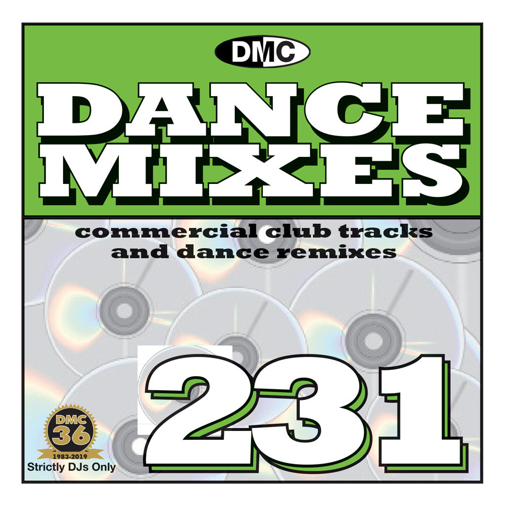 DANCE MIXES 231 (Unmixed) - FULL LENGTH CLUB TRACKS AND DANCE REMIXES - May 2019 release