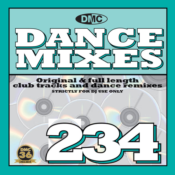 DANCE MIXES 234 - Original & full length club tracks and dance remixes - July 2019 release