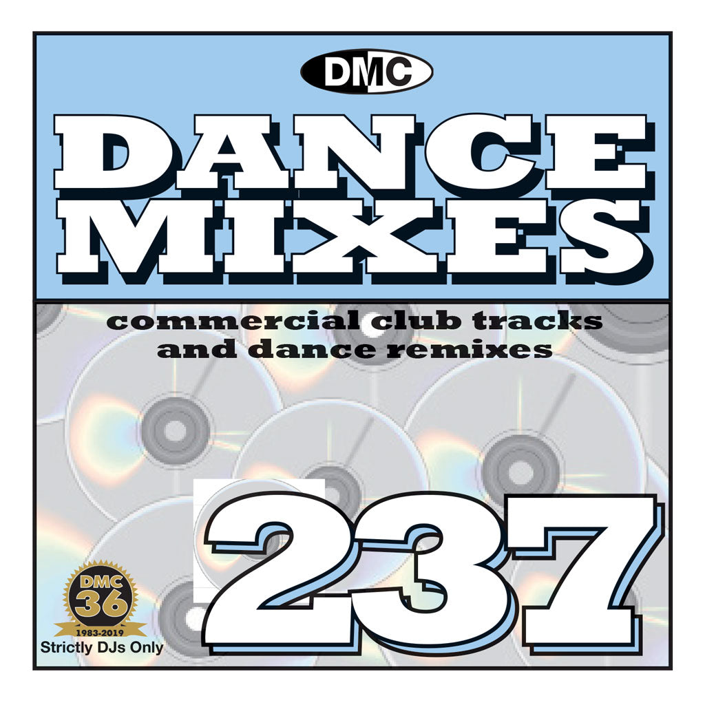 Check Out DANCE MIXES 237 (Unmixed) - PRE-RELEASE FULL LENGTH CLUB TRACKS AND DANCE REMIXES- August 2019 On The DMC Store