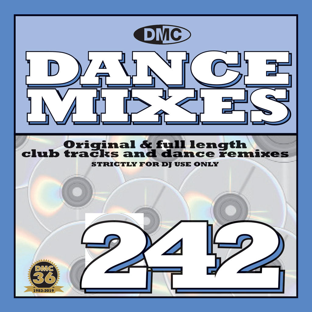 DMC DANCE MIXES 242  - Original & full length club tracks and dance remixes - November 2019