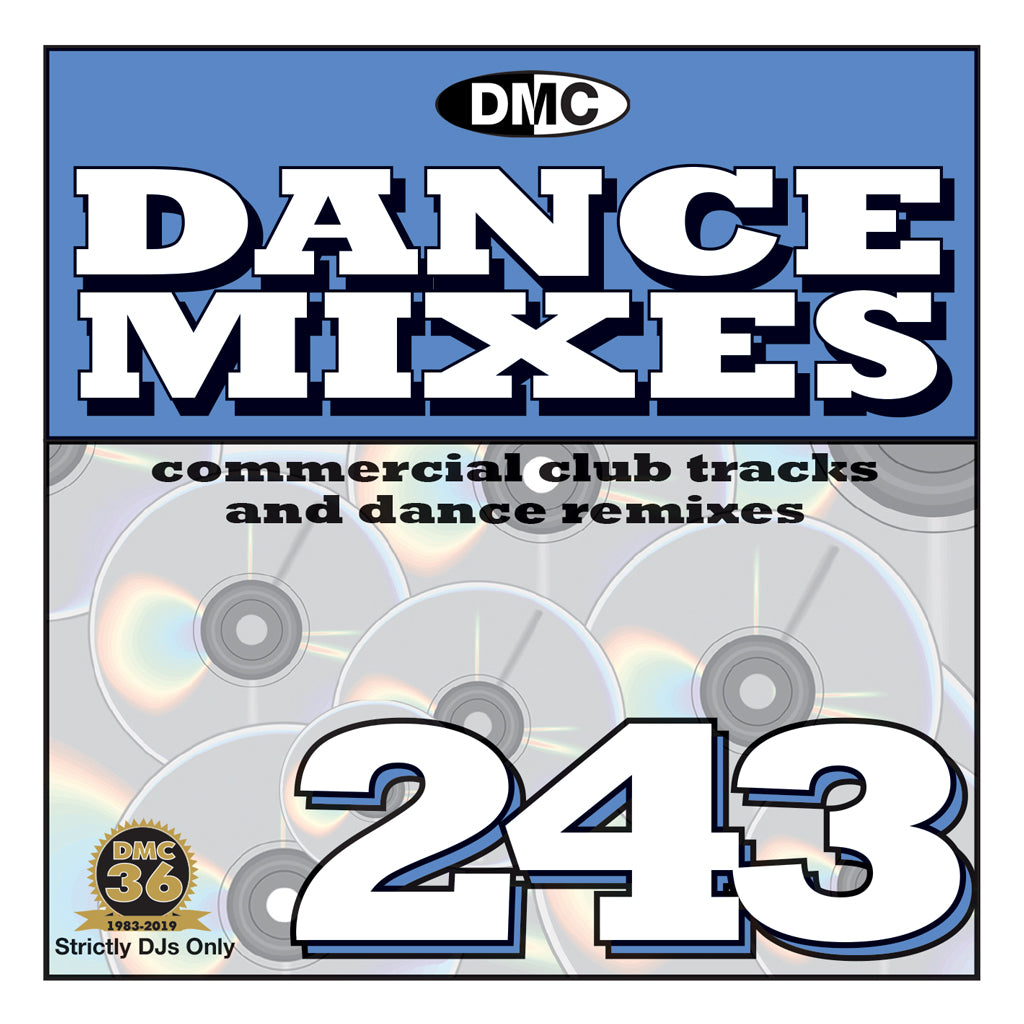Check Out DANCE MIXES 243 (Unmixed)  PRE-RELEASE FULL LENGTH CLUB TRACKS AND DANCE REMIXES - November 2019 On The DMC Store