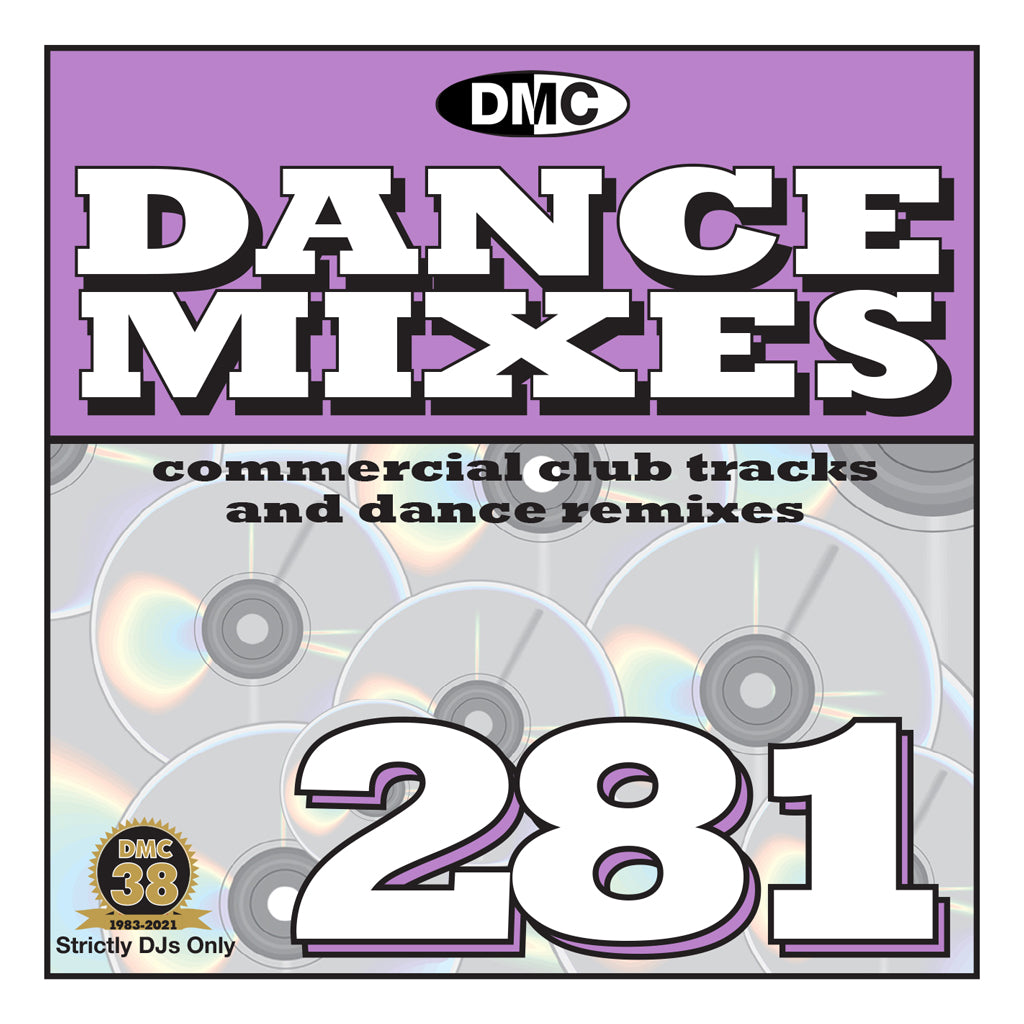 Check Out DMC DANCE MIXES 281 - mid June 2021 release On The DMC Store