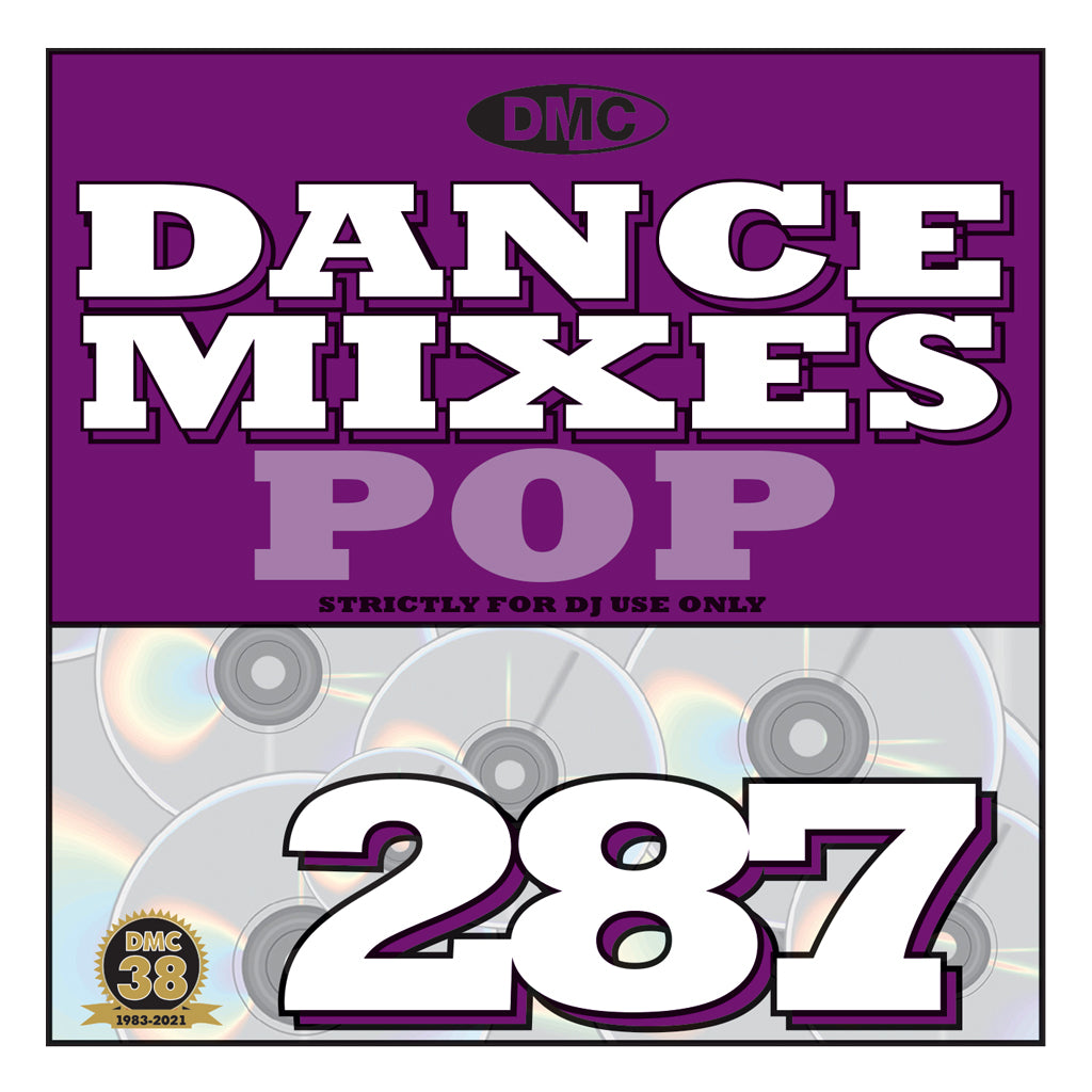 Check Out DMC DANCE MIXES 287 POP - September 2021 release On The DMC Store