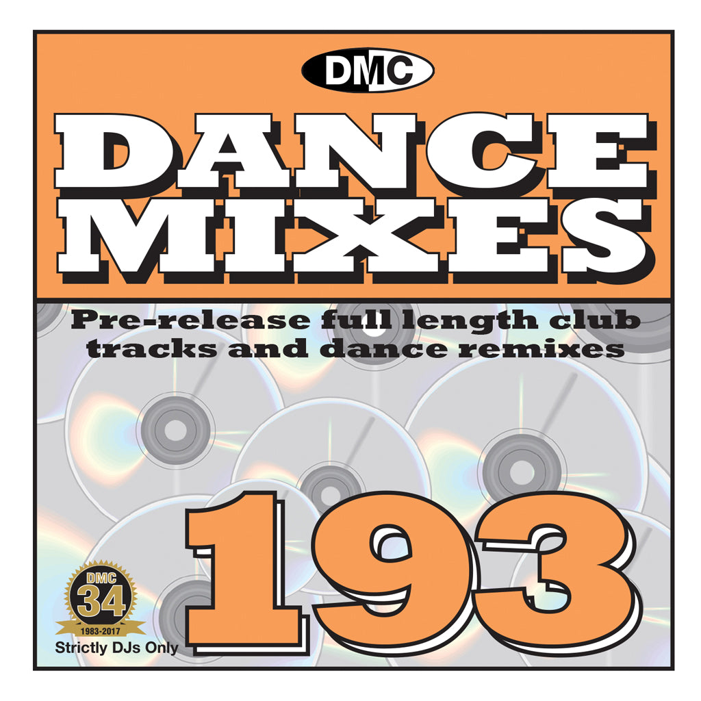 DMC Dance Mixes 193 - October 2017 release