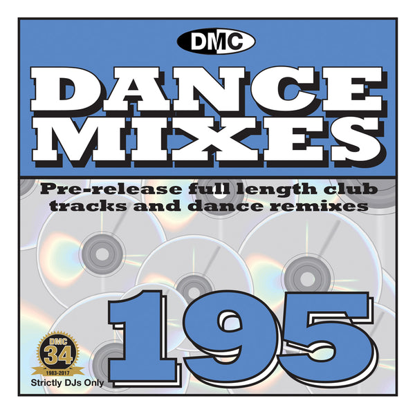DANCE MIXES 195  PRE-RELEASE FULL LENGTH CLUB TRACKS AND DANCE REMIXES - November 2017
